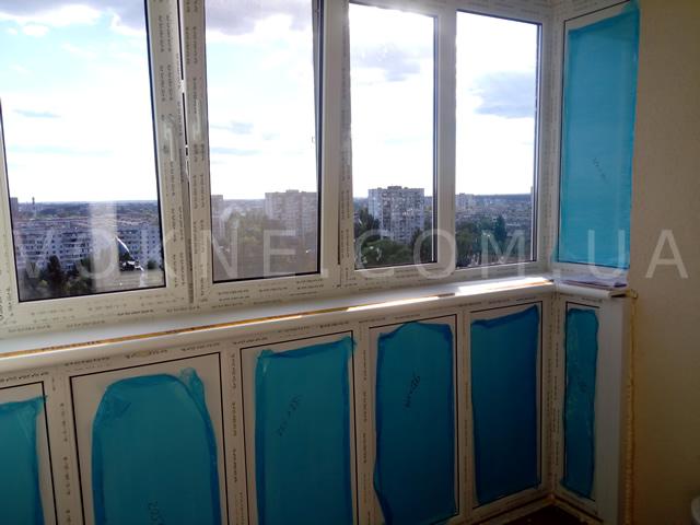 Установка окна без обсады