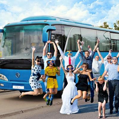 Автобусы на заказ в спб для свадьбы
