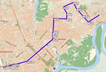 4. Объединение маршрутов №8 «