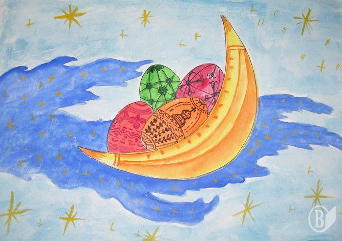 Конкурс детского рисунка к пасхе