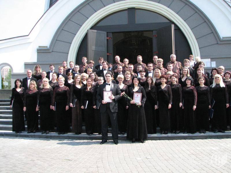 Військовий хор разом з хором ім